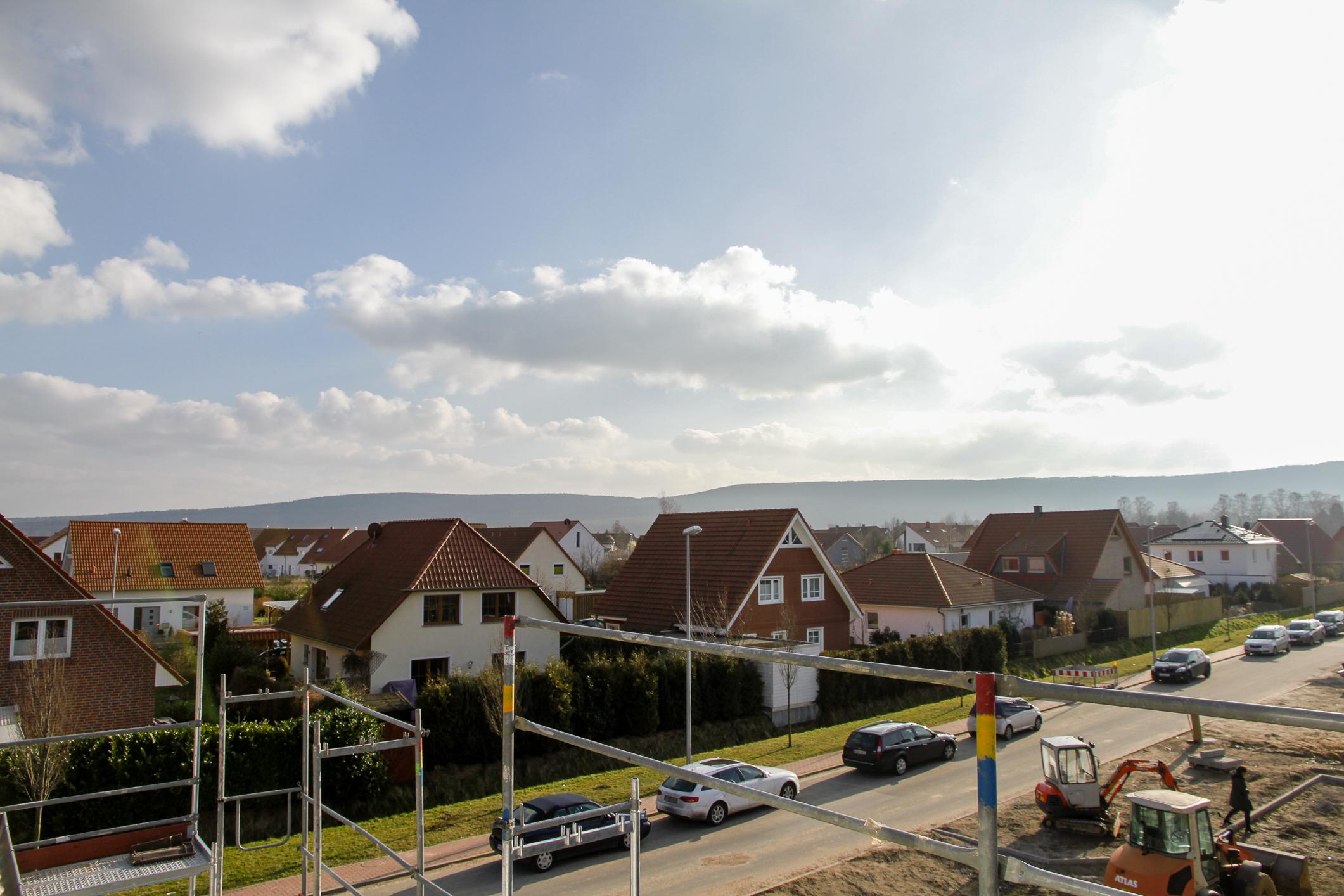 Penthouse - Ausblick von Balkon